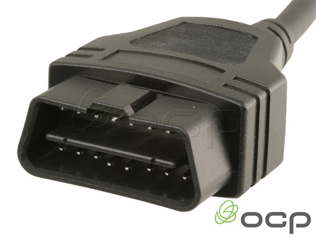 11760-03-300 - OBD II J1962 Cables Male To Blunt End Cut, 16 X 24AWG