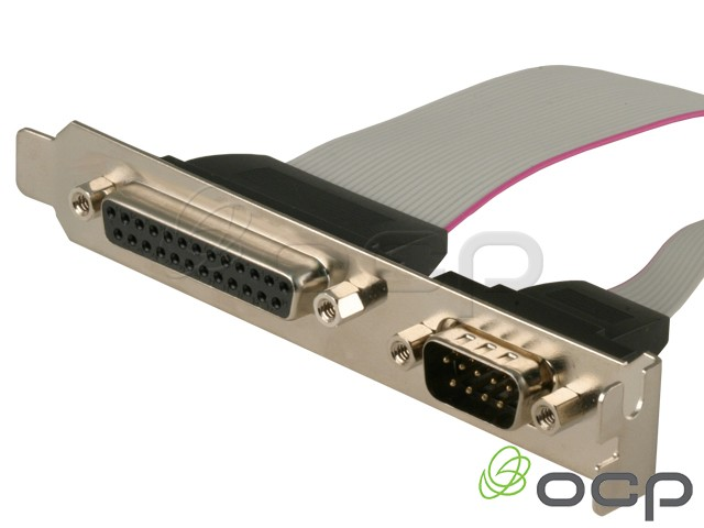 55-00145 - Serial/Parallel Combo I/O Port DB9M/DB25F