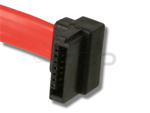 14-10060 - SATA, R. Angle, Low Profile to Straight